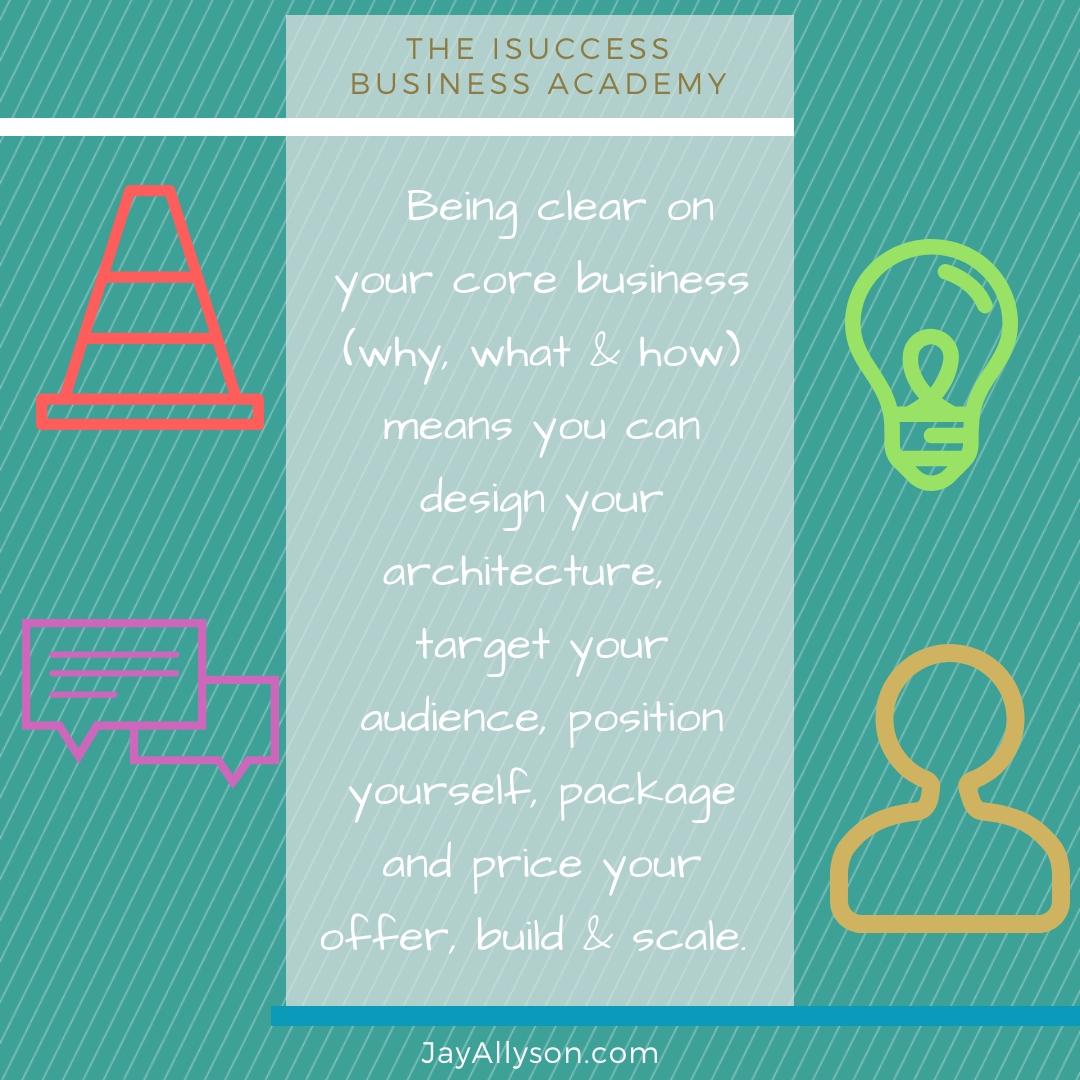 isuccess business design courses
