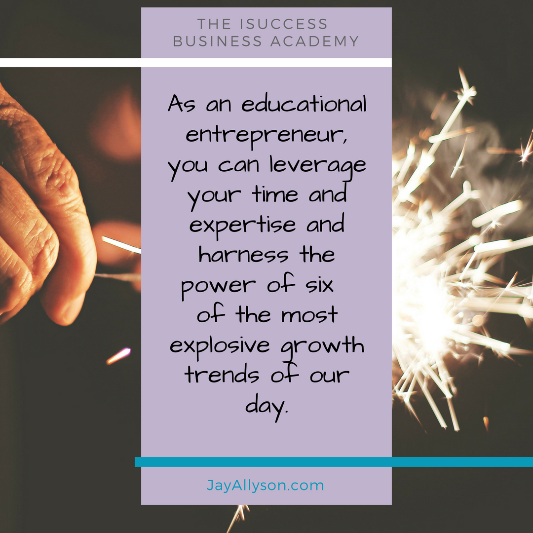 isuccess online business education growth trends