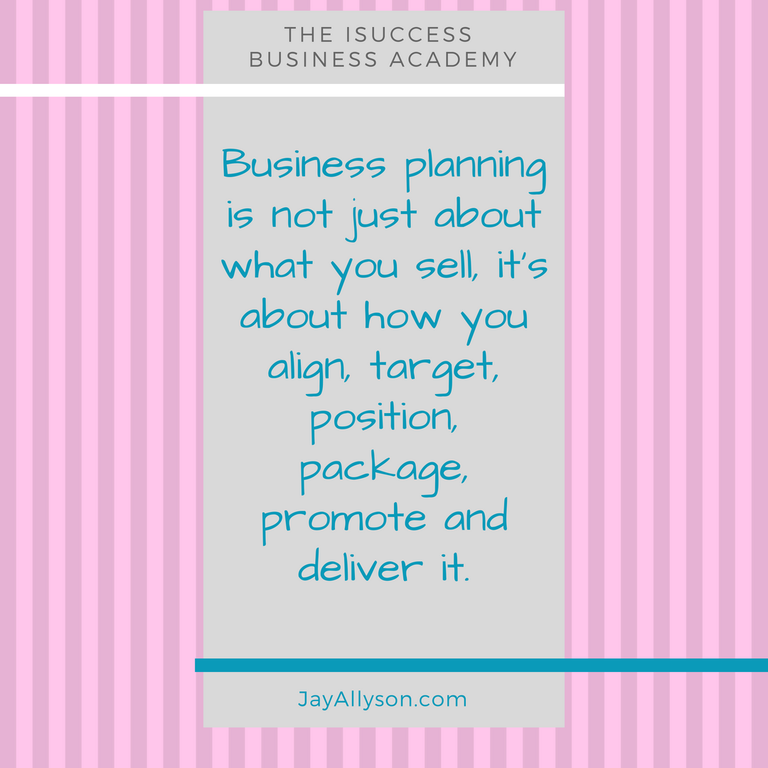 isuccess business planning courses