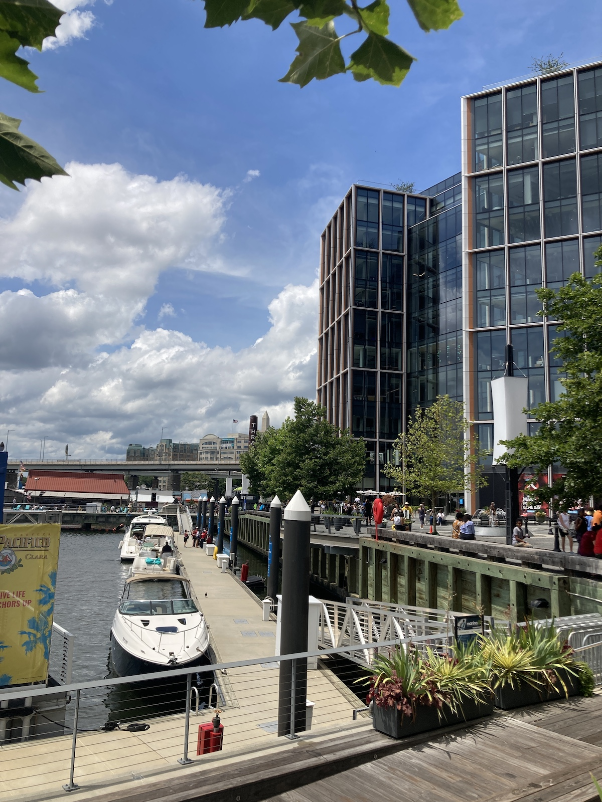DC Neighborhoods - wharf