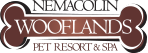 Logo for the Nemacolin Wooflands Pet Resort & Spa