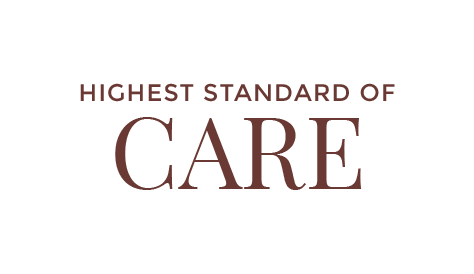 Highest standard of care text