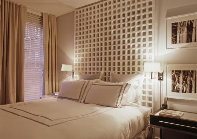 bedroom interior design vicente wolf new york