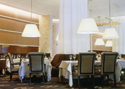 Dining room in restaurant Wynn Las Vegas