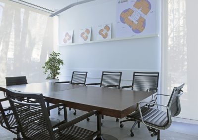 conference room and chairs
