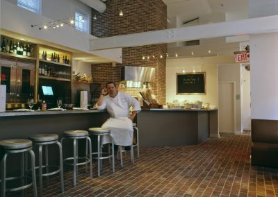 restaurant lorien hotel chef interior design vicente wolf