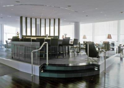 Bar in Liberty national golf club
