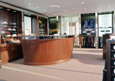 Shop in golf club
