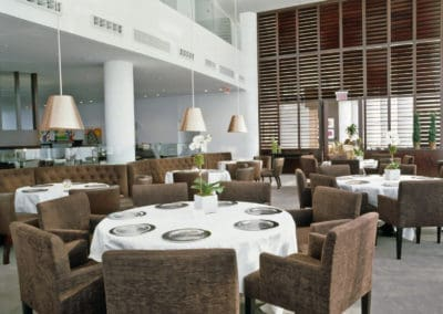 Restaurant in Liberty national golf club