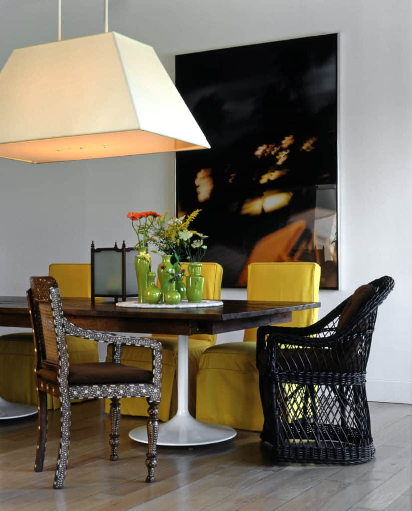 Connecticut Dining Room Designed by Vicente Wolf