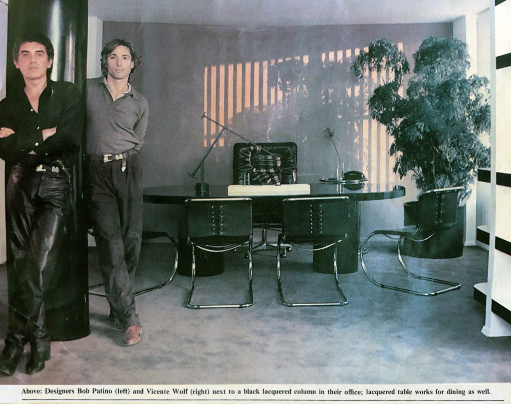 Bob Patino and Vicente Wolf historic 1970's photo. The New York Times Photo