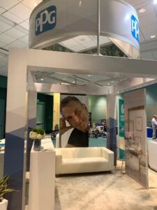 PPG color booth at the Puerto Rico Convention Center in San Juan