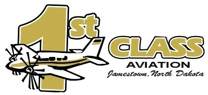 1st Class Aviation logo