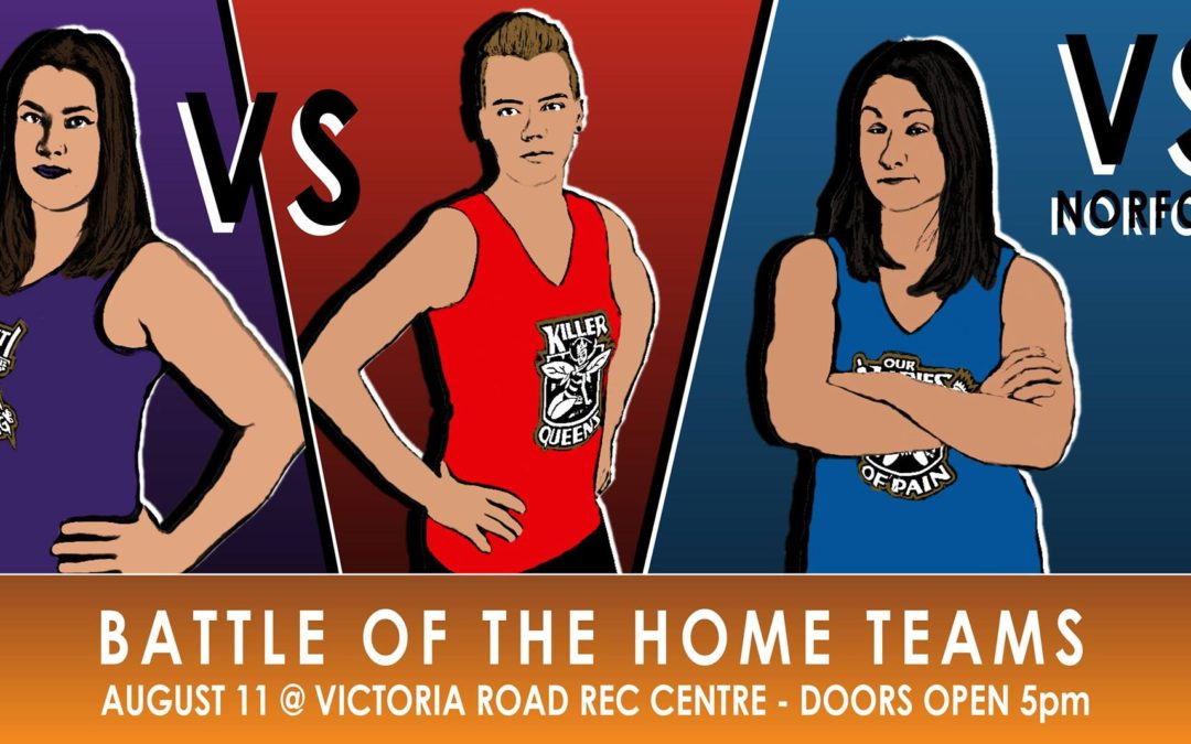 Battle of the Home Teams on August 11th