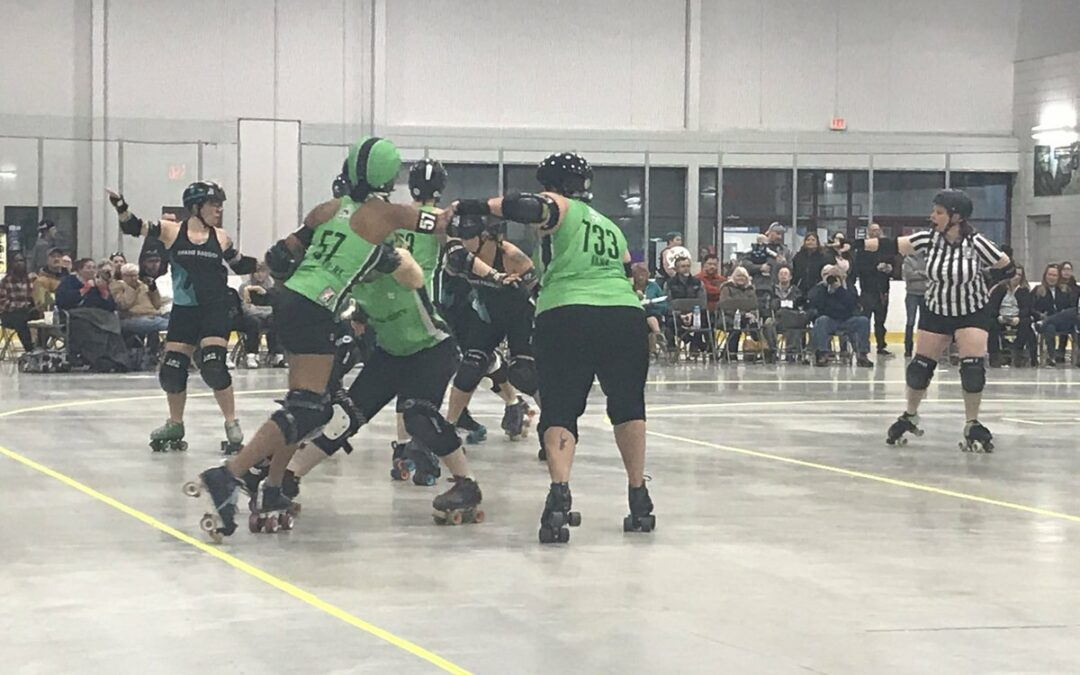 Brute Leggers and Rum Rollers Navigate Grand Raggidy's Grand Rapids