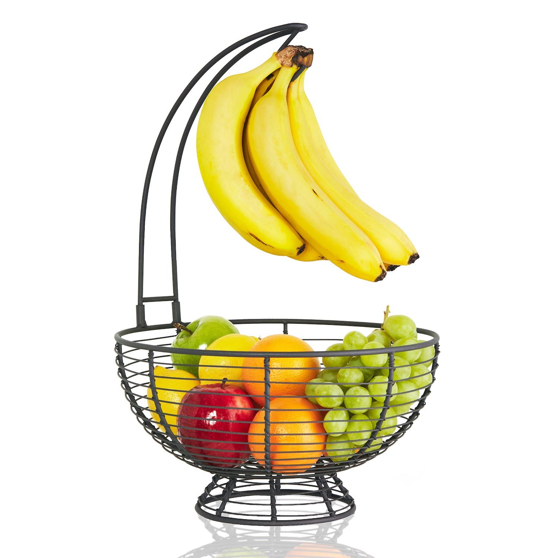 Fruit Basket With Banana Hanger
