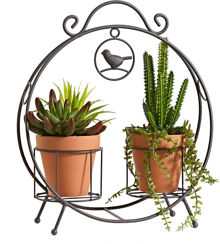 2 Pot Plant Stand