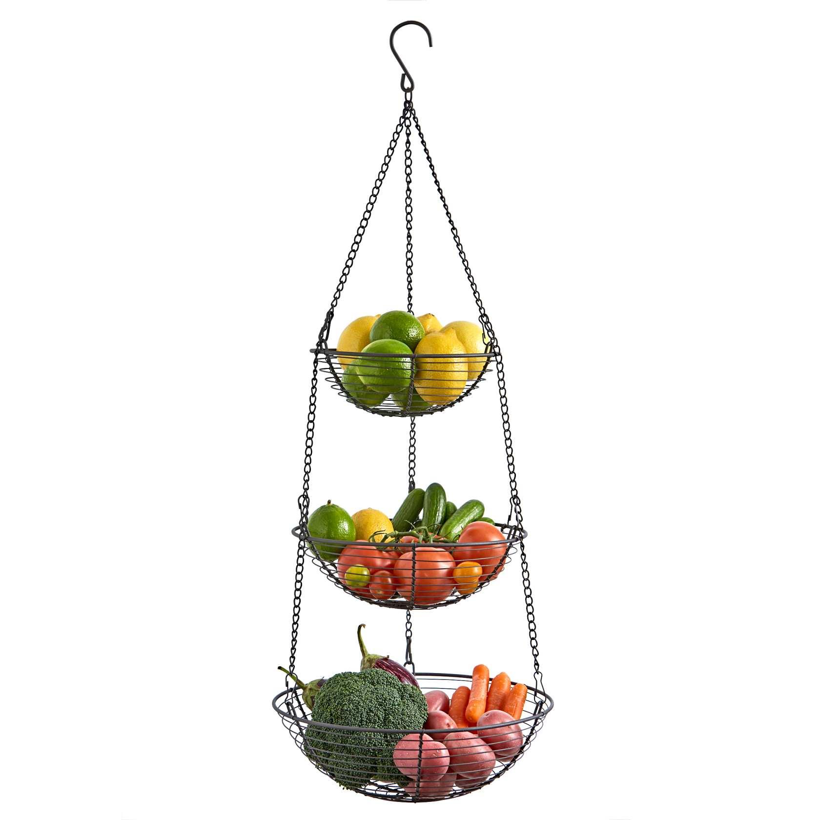 3 Tier Wire Hanging Basket