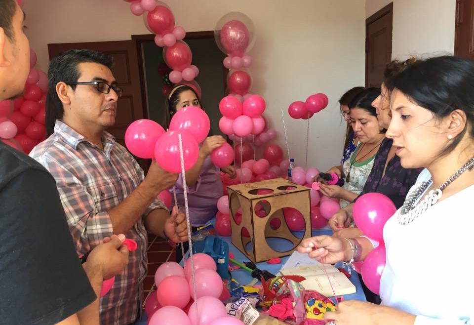 Balloon decoration workshop held on 20 august