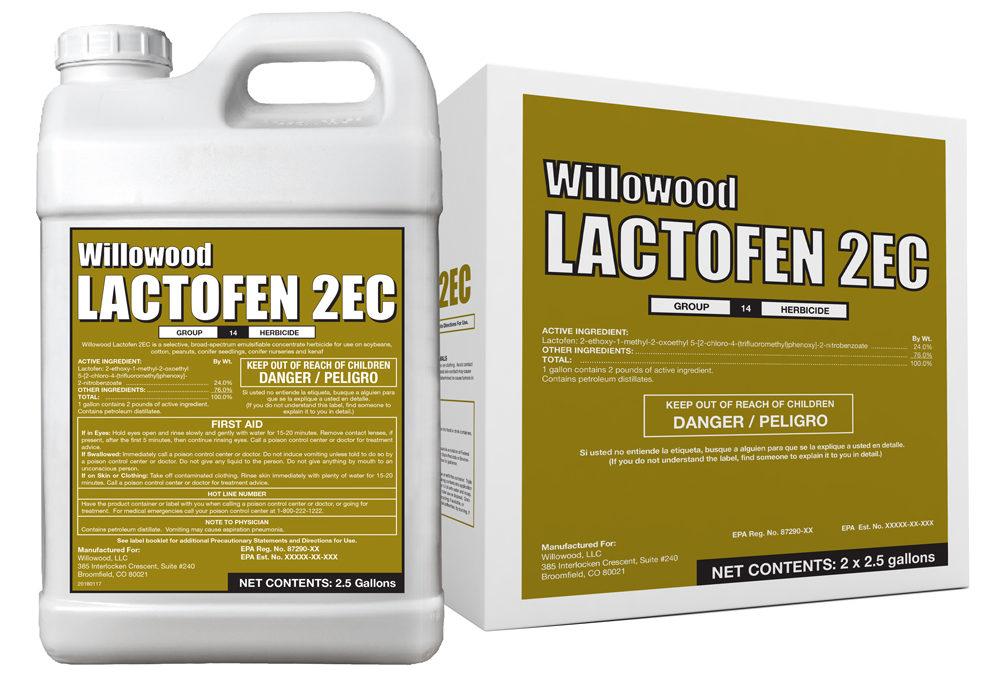 Lactofen 2EC