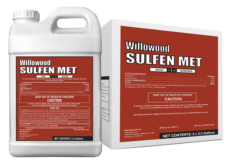 Sulfentrazone MTZ DF Box and Jug