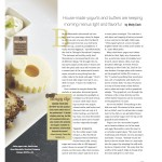 Plate magazine: House-made yogurts and butters