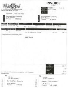 O/E Invoice Format 2