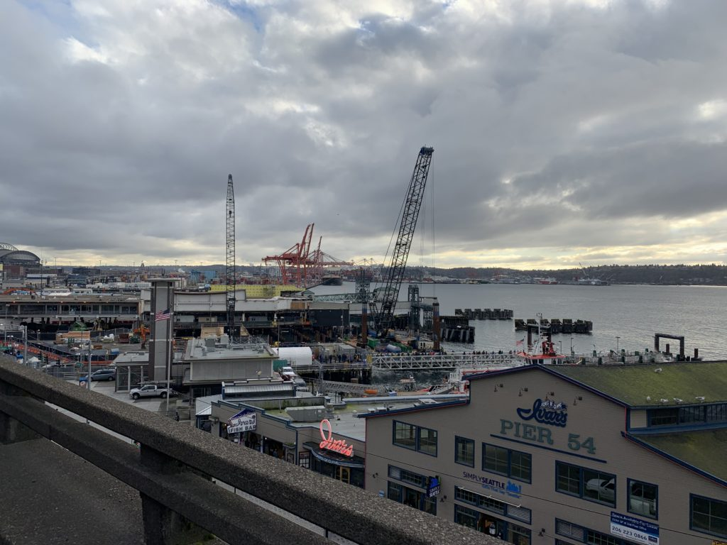 Seattle Waterfront Webcam Ivar's View 02 02 2019