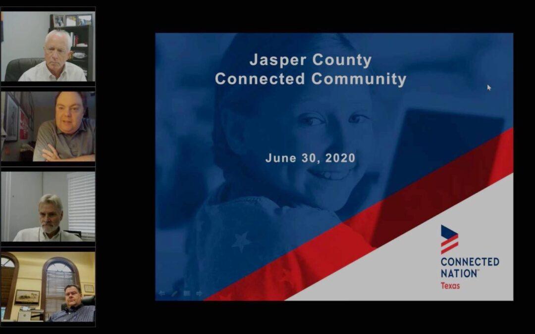 Jasper County & Broadband Mapping