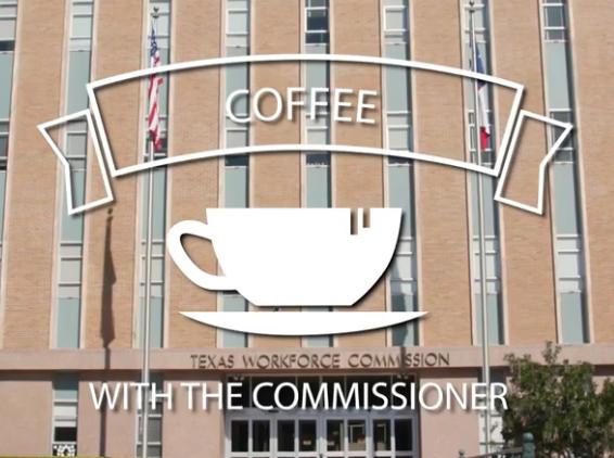 Coffee with the Commissioner, Julian Alvarez TWC