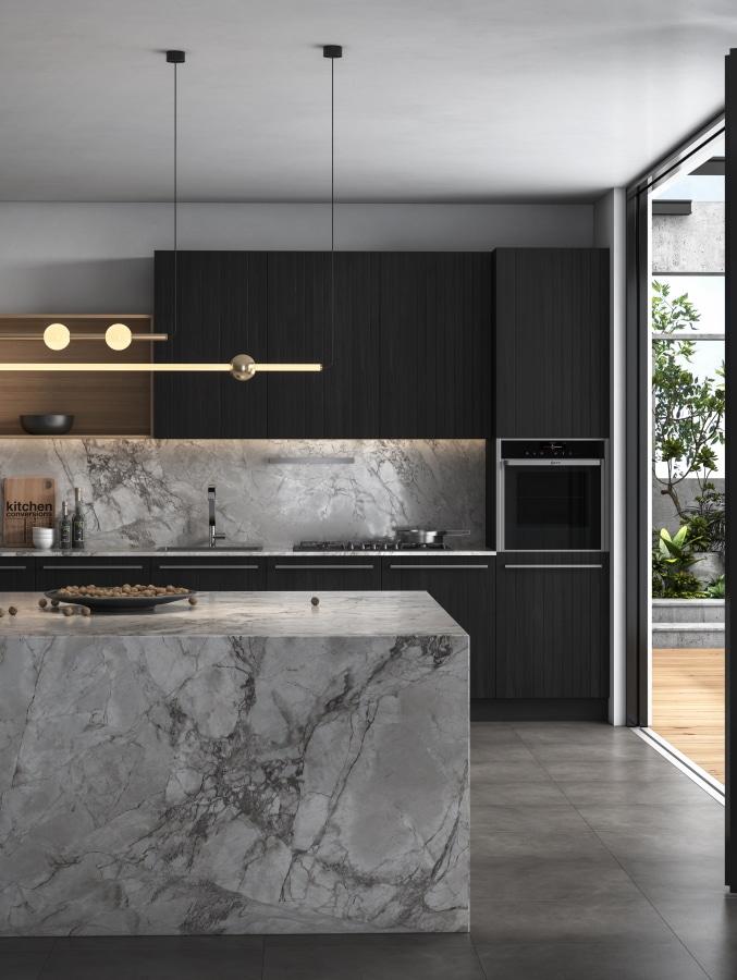 superwhite Porcelain-kitchen-benchtop