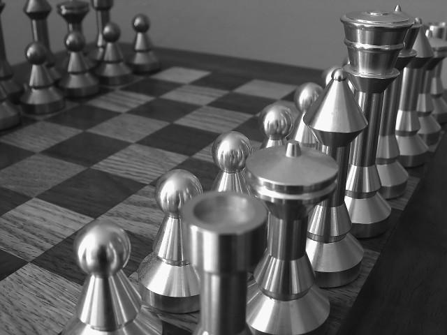 An unplayed Chess Board