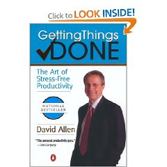 Getting Things Done Book Cover
