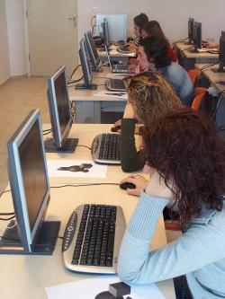 A computer based examination room