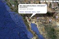A California Earthquake