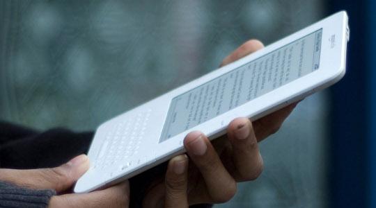 An Amazon Kindle