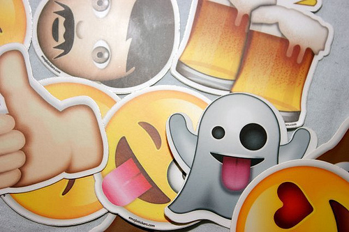 Emoji images may take away some of the meaning of a message
