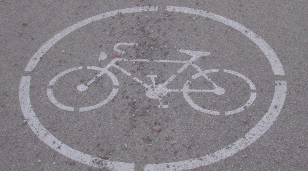 Free bike sign