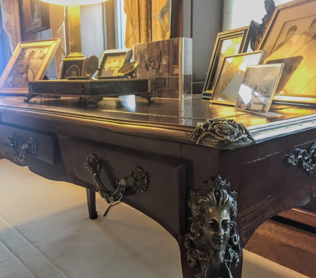 Antique desk restoration
