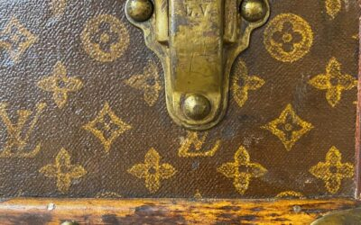 Conservation of a Turn-of-the-Century Louis Vuitton Trunk