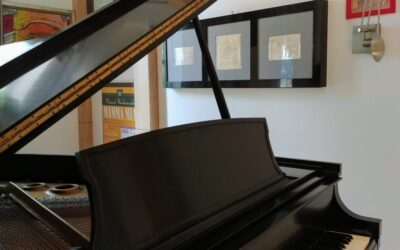 Custom Cabinets for Antique Sheet Music