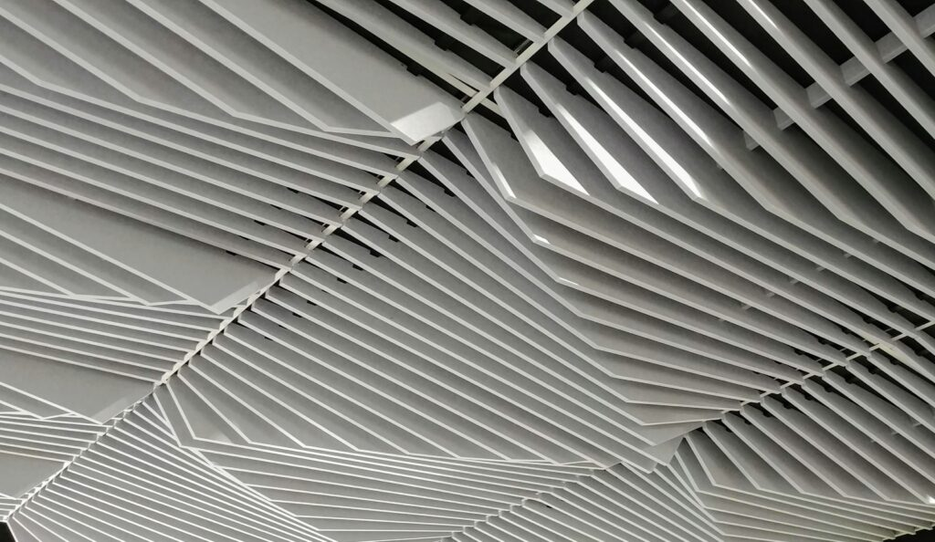 ecoustic Sculpt Ceiling Tiles by Unika Vaev