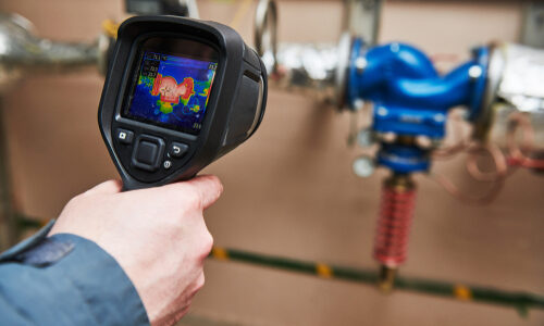 Thermal,Imaging,Inspection,Of,Heating,Equipment