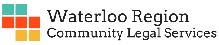 Logo for Waterloo Region Community Legal Services