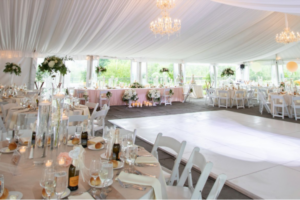 Tent White Dance Floor