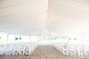 white tent ceremony