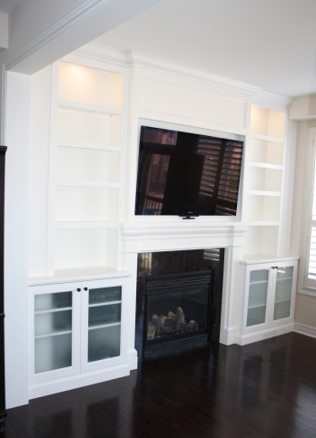 fireplace entertainment unit with lighting2