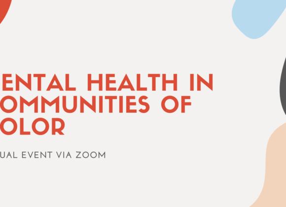 Mental Health in Communities of Color