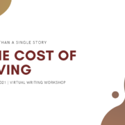 Writing Workshop: The Cost of Living
