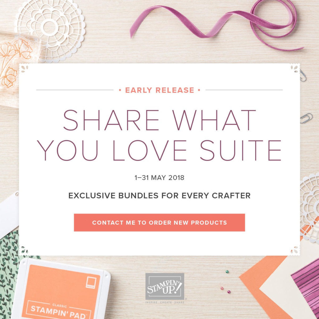 Share what you love Stampin' Up Suite